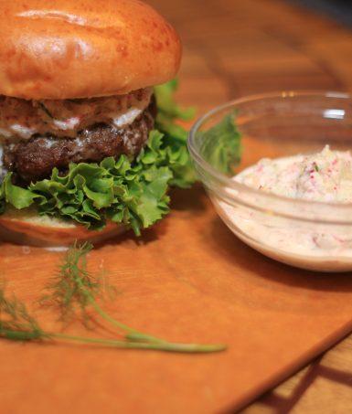Totally Radish Burger