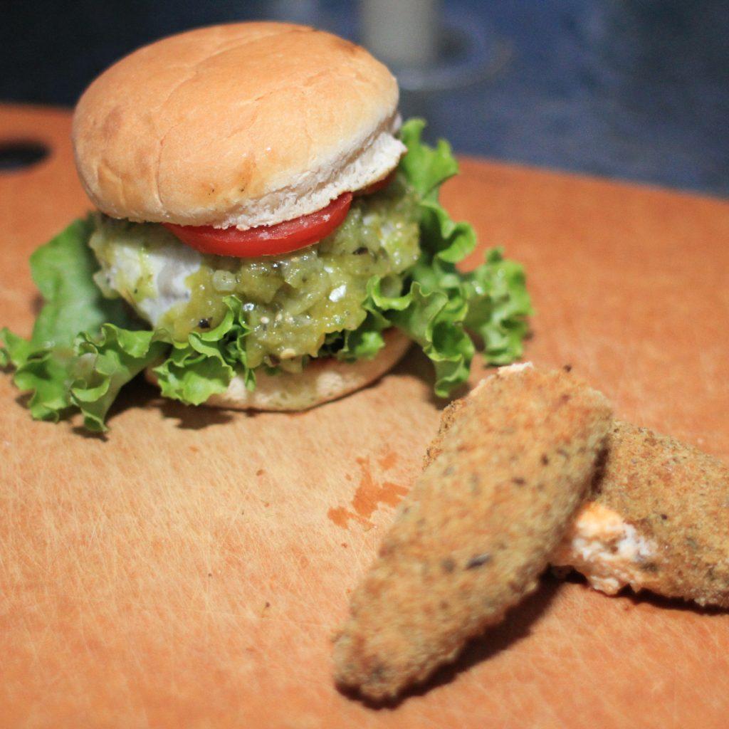 Poblano Picasso Burger